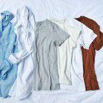 【制服化】シンプルコーデで1週間着まわせる!ミニマリスト的トップス6選。