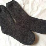 噂のダイソーのあったかパイル靴下。完売前に買い換えました